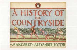 A History Of Our Countryside 1944 Puffin Book Postcard