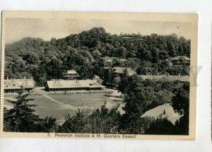 3147310 INDIA KASAULI Research institute Vintage postcard