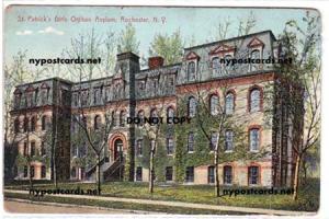St Patrick's Girls Orphan Asylum., Rochester NY
