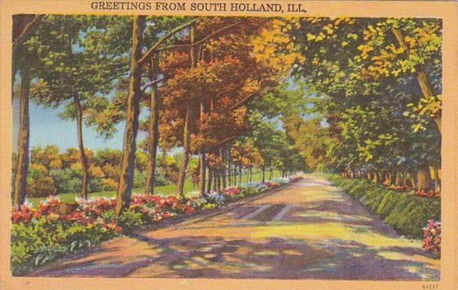 Illinois Greetings From South Holland