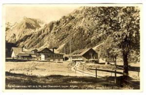 RP, Spielmannsau 1071 m u. M., bei Oberstdorf, bayer. Allgau, Baden-Wurttembu...