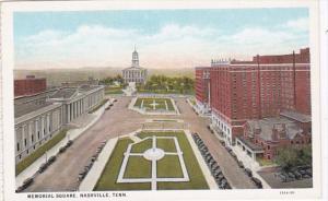 Tennessee Nashville Memorial Square Curteich