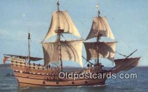 Mayflower II Sail Boat Postcard Post Card Unused