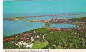 Florida Madeira Beach In Foreground Is U S Veterans Hospital