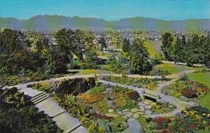 Canada Anniversary Garden Queen Elizabeth Park Vancouver British Columbia