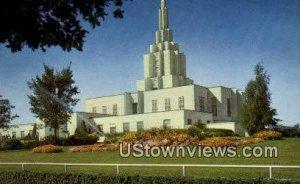 Mormon Temple - Idaho Falls , Idaho ID