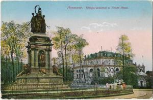 Germany Hannover Kriegerdenkmal 01.21