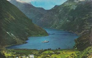 Birds Eye View, Geiranger Fjord, Norway, 1940-60s
