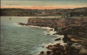 Coogee Sydney Australia c1910 Postcard