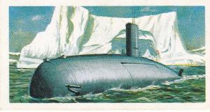 Trade Cards Brooke Bond Tea Transport Through The Ages No 49 Nuclear Submarine