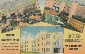 ST. CATHARINES, Ontario, Canada, 1930-40s ; Hotel Queensway