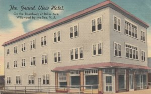 WILDWOOD by the SEA , New Jersey , 30-40s; The Grand View Hotel