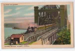 Le Pont De Quebec Bridge