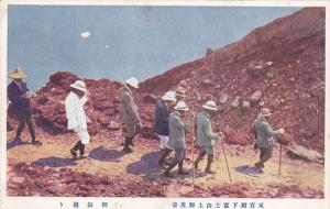 Emperor Hirohito Of Japan , 20-30s ; Hiking #2