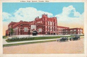 Postcard Libbey High School Toledo Ohio