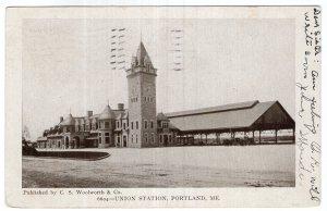 Portland, Me, Union Station