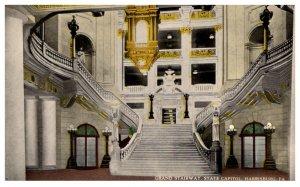 Pennsylvania  Harrisburg ,Grand Stairway ,Capitol