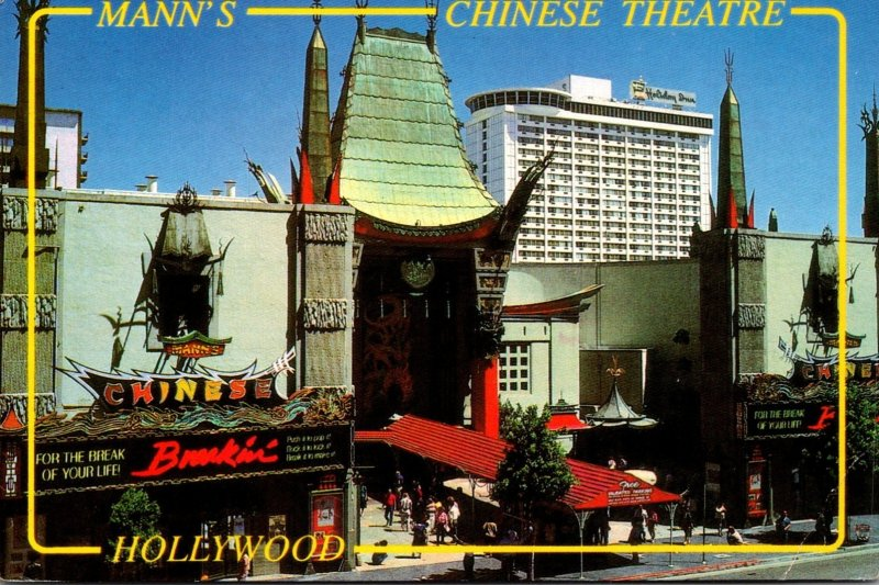 California Hollywood Mann's Chinese Theatre 1990