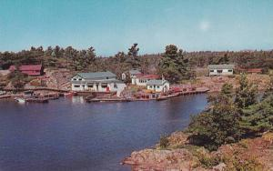 Ferguson Bros. H.K. Cottages & Tourist Supplies , McGregor Bay , Ontario , Ca...
