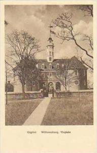 Virginia Williamsburg Capitol Albertype