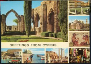 Cyprus Greetings from Multi-view - unposted