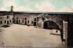 Florida St Augustine Fort Marion Interior Tucks