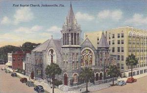 Florida Jacksonville First Baptist Church