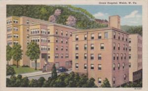 West Virginia Welch Grace Hospital Curteich