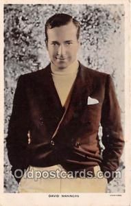 David Manners Movie Actor / Actress, Entertainment Postcard Post Card Actor A...