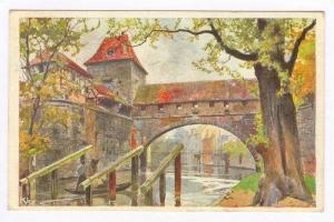 Nurnberg, Germany, PU-1907   Kasematten