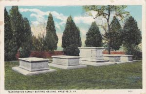 Washington Family Burying Ground,Wakefield,Virginia,00-10s
