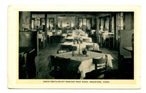 CT - Branford. Oasis Restaurant, Boston Post Road