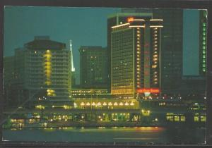 1998 Louisville Kentucky, Galt House Hotel, mailed to Czechoslovakia
