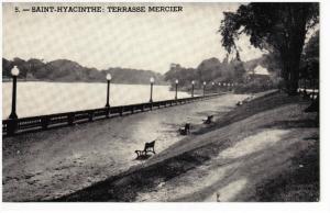 SAINT-HYACINTHE , Quebec , Canada , 30-50s ; Terrasse Mercier