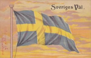 Sweden Sveriges Val Flag Of Sweden 1906