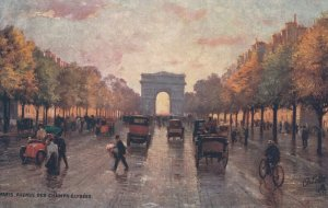 PARIS, France, 1900-10s ; Avenue Des Champs-Elysees ; TUCK 951 P No 48