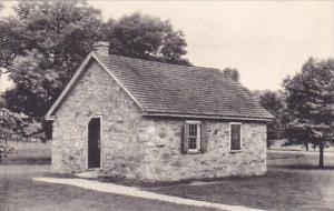 Old Camp School House Valley Forge Pennsylvania Albertype
