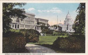 Normal School and State Capitol, Providence, Rhode Island, 00-10´s