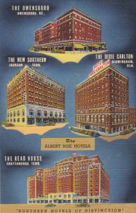 Tennessee Chattanooga Albert Noe Hotels Curteich