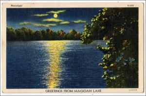 Greetings from Magician Lake MI