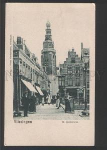 120430 Netherlands VLISSINGEN St. Jacobstoren Flushing Vintage