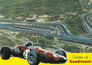 Zandvoort Grand Prix Motor Racing Circuit Postcard