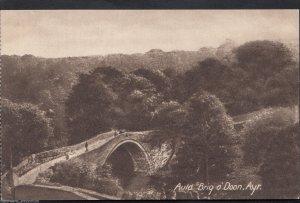 Scotland Postcard - Auld Brig o'Doon, Ayr    A6803