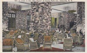 ASHEVILLE , North Carolina , 1910s ; Grove Park Inn Big Room
