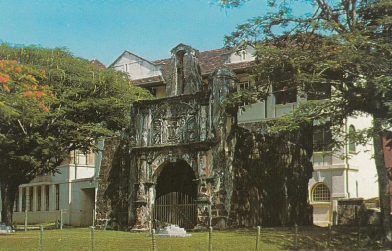 MALACCA , Malaysia , 50-60s ; An Ancient Fort