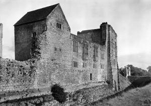 Yorkshire Helmsley Castle Domestic Building from North