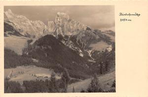 Bischofsmuetze Salzburg Berg Mountain Forest Landscape