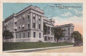 DALLAS , Texas , PU-1919; Texas Baptist Memorial Sanatorium