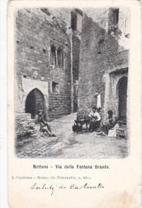 Nettuno , province of Rome , Lazio , Italy , 00-10s : Via della Fontana Grande