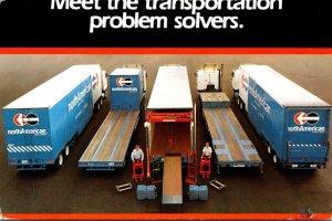 Advertising Semi Trucks North American Van Lines 2001